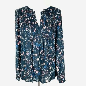 Lucky Brand Long Sleeve Blouse M NWT
